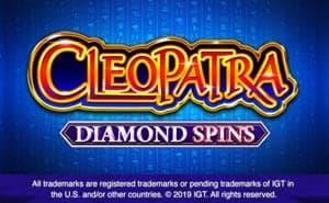 Cleopatra Diamond Spins online casino game