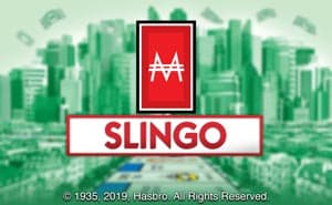 monopoly slingo casino game