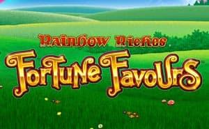 Rainbow Riches Fortune Favours uk slot